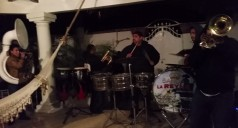 Banda serenading mom on her birthday
